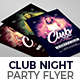Club Night Party Flyer Nulled