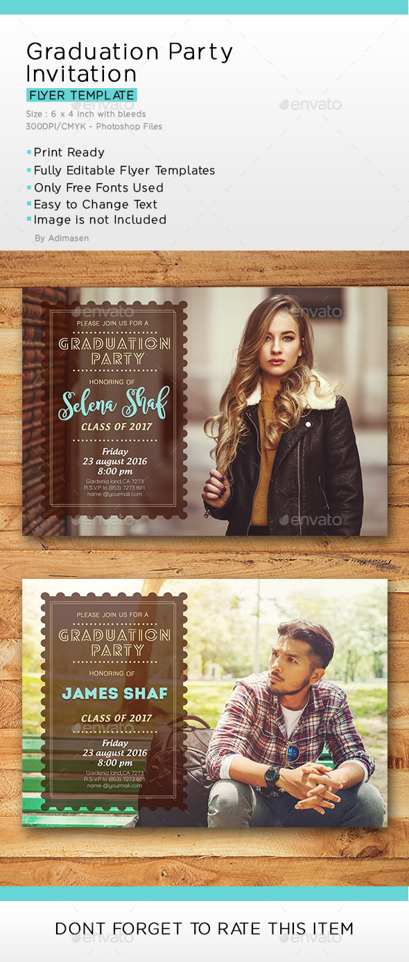 Graduation Party Invitation - Invitations Cards & Invites