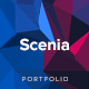 Scenia - Cutting Edge HTML Portfolio Nulled