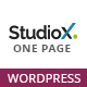 StudioX - One Page WordPress Nulled