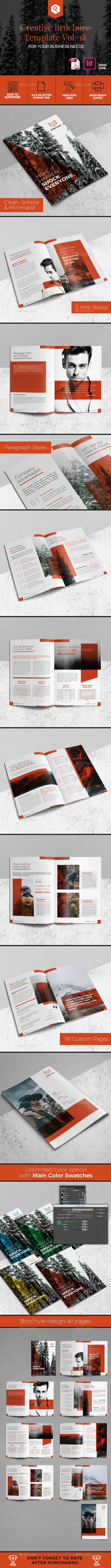 Creative Brochure Template Vol. 18 - Corporate Brochures