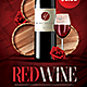 Red Wine Flyer - GraphicRiver Item for Sale