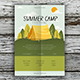 Summer Camp Flyer Template - GraphicRiver Item for Sale