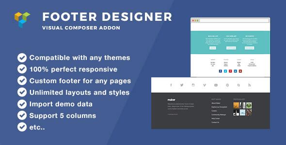 Footer Designer - Footer plugin for Wordpress