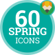 Spring Nature Springtime Season - Flat Animated Icons and Elements - VideoHive Item for Sale