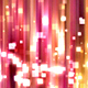 Abstract Pink Square Particles Glitter Polar Lights Background - VideoHive Item for Sale