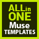 dMuse All in One Muse Template - ThemeForest Item for Sale