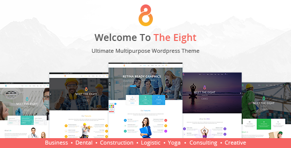 The8 - Corporate, Business WordPress theme - Business Corporate