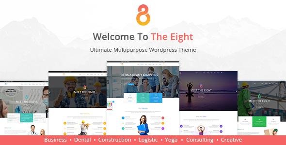 The8 - Corporate, Business WordPress theme