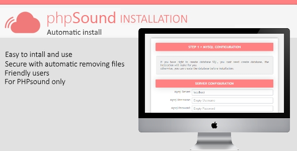 phpSound - Installation - CodeCanyon Item for Sale