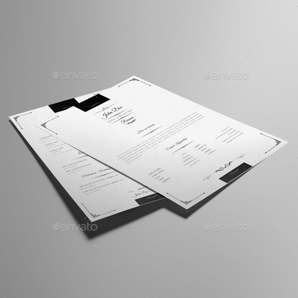6 Etl Business Requirements Specification Template Reyri: Royal Vintage Resume Template By Keboto