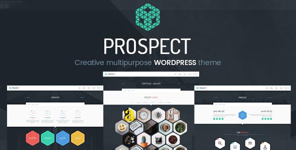 Prospect - Creative Multipurpose WordPress Theme - Creative WordPress