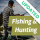 Fishing and Hunting WordPress Theme - ThemeForest Item for Sale
