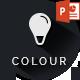 Colour - Simple Creative Unique Powerpoint Template - GraphicRiver Item for Sale