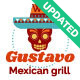 Gustavo | Mexican Grill, Bar & Restaurant - ThemeForest Item for Sale