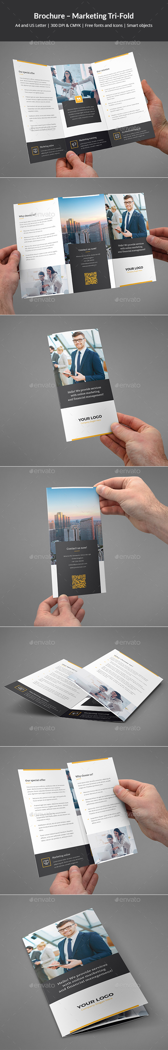 Brochure – Marketing Tri-Fold - Corporate Brochures