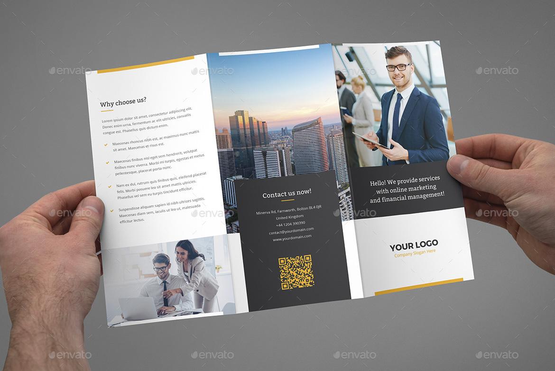 brochure marketing tri fold by artbart graphicriver