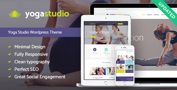 Yogastudio, Gym and Healthcare WP Theme - Health & Beauty Retail