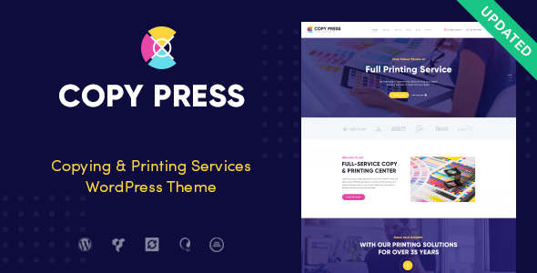 CopyPress | Type Design & Printing Services WordPress Theme