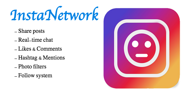 Insta Network - CodeCanyon Item for Sale