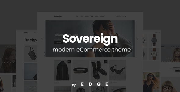 Sovereign – A Modern, Minimalistic Shop Theme