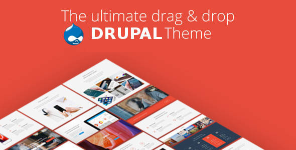 Pivot - Drupal 8 Multipurpose Theme with Paragraph Builder