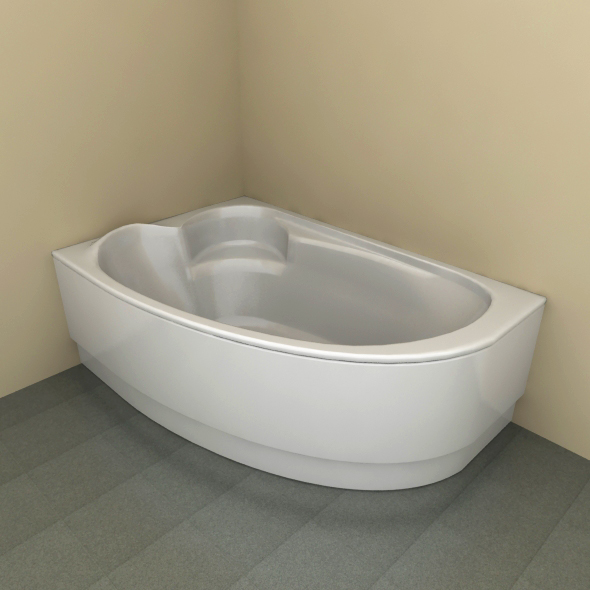 Bath tub - 3DOcean Item for Sale
