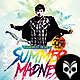 Summer Madness Flyer Template PSD - GraphicRiver Item for Sale