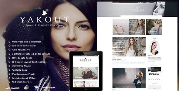 Yakout - Personal & Shop WordPress