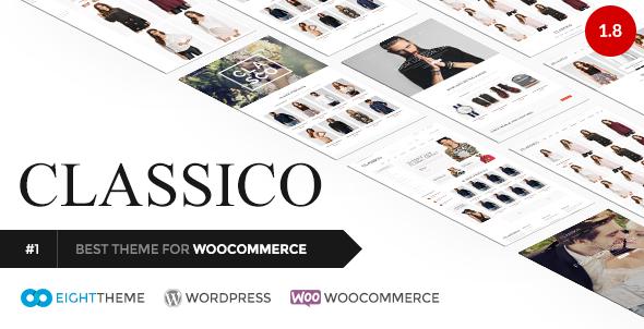 Classico - Responsive WooCommerce WordPress Theme
