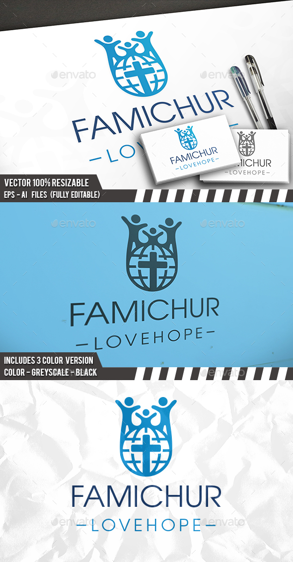 Global Family Logo - Humans Logo Templates