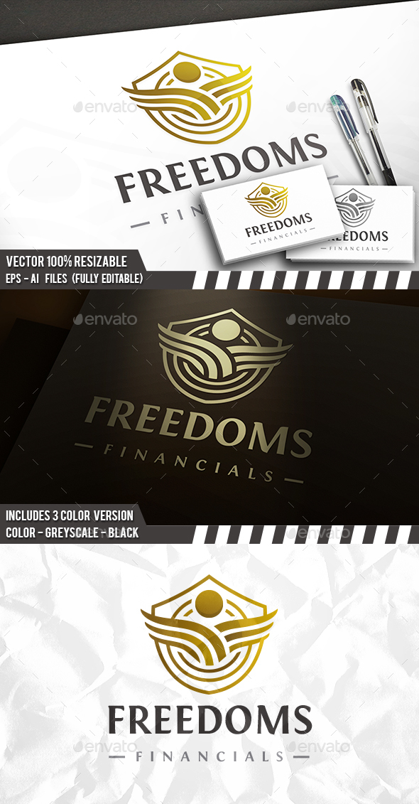 Free People Emblem Logo - Crests Logo Templates