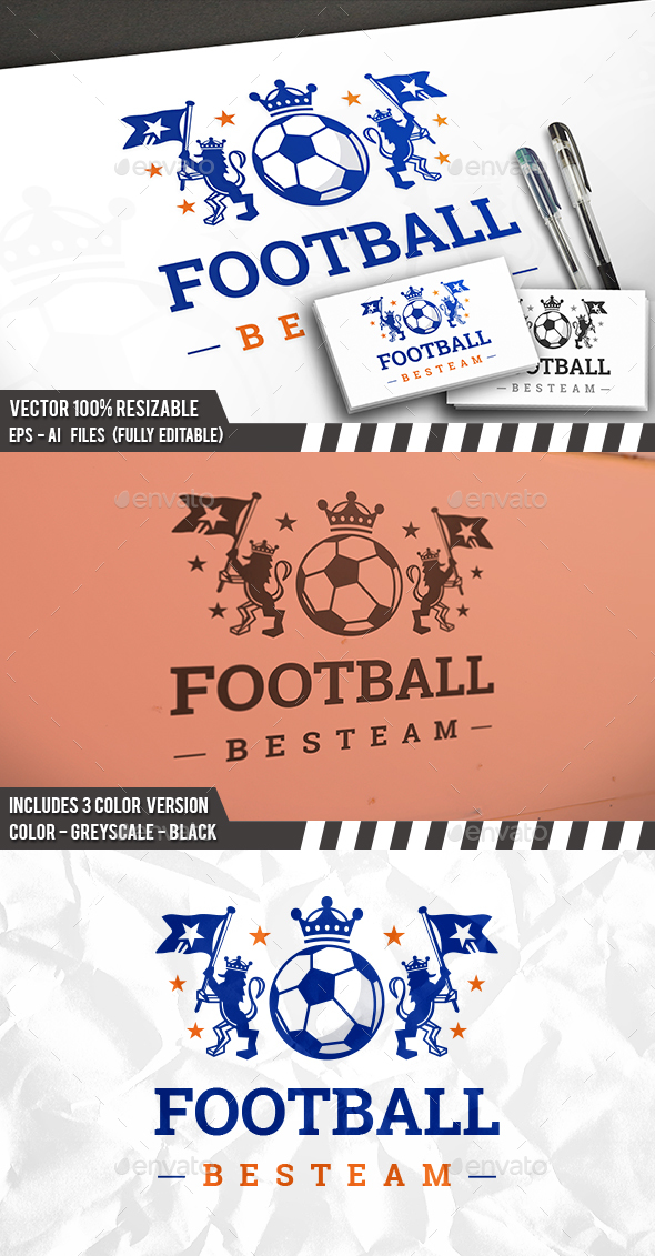 Soccer Crest Logo - Crests Logo Templates