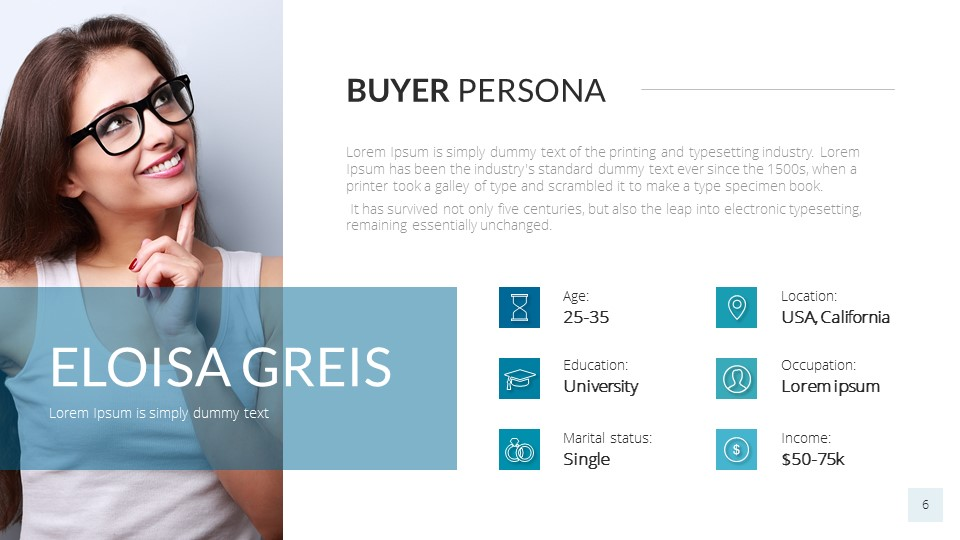 Buyer Persona PowerPoint Presentation Template by SanaNik | GraphicRiver