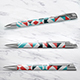 3 Pen Mock-up - GraphicRiver Item for Sale