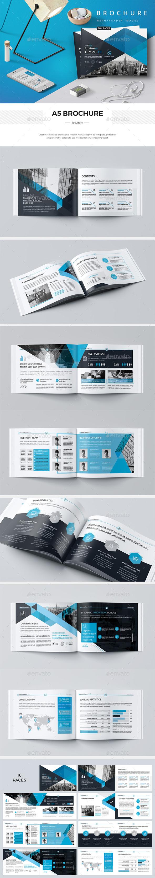 A5 Company Brief - Corporate Brochures