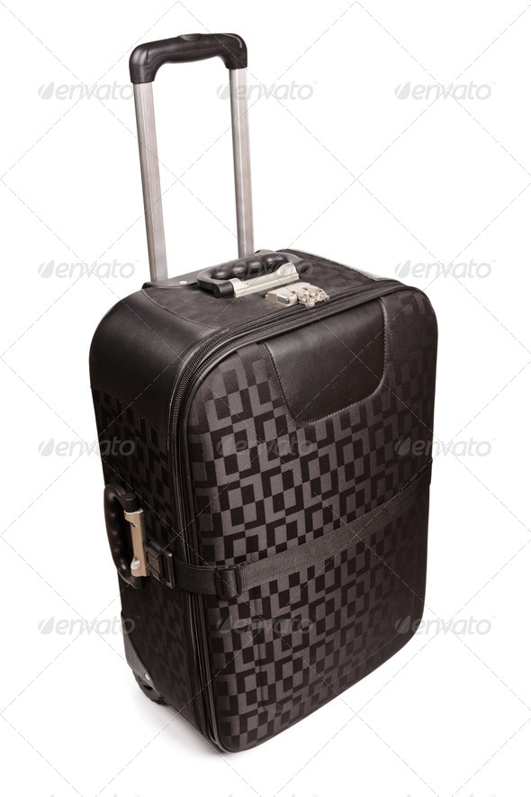 Travel bag isolated - Stock Photo - Images