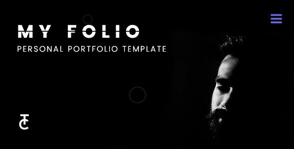 Myfolio – A Personal Portfolio Template