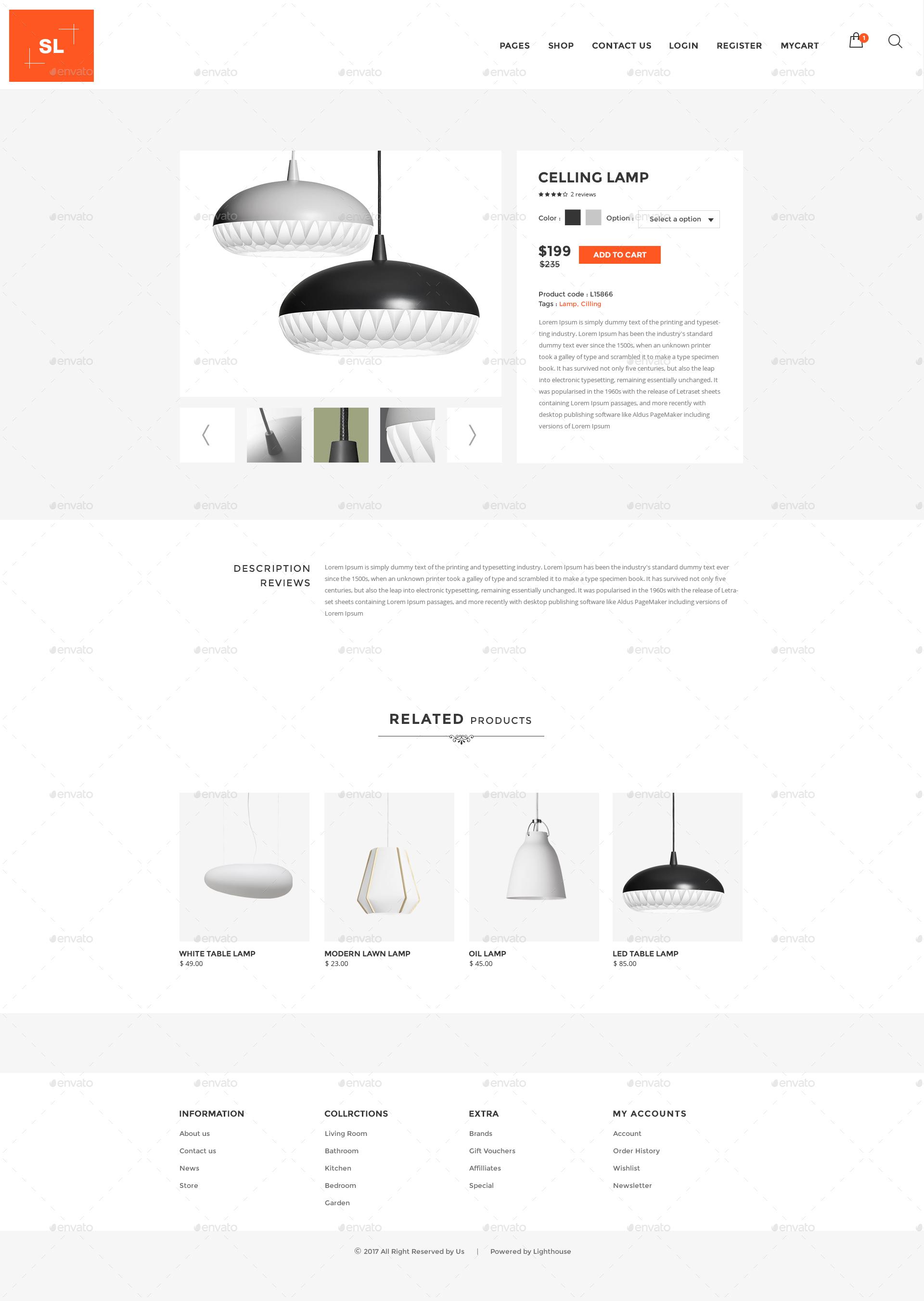 Fantastic Light House Light Store Interior Lighting Decoration Psd Template Wiring Digital Resources Jonipongeslowmaporg