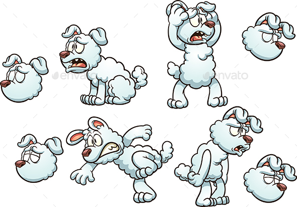 Cartoon Dog - Animals Characters