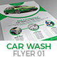 Car Wash Flyer Template 01 Nulled