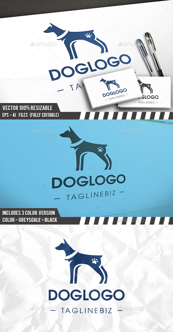 Dog Pet Logo - Animals Logo Templates