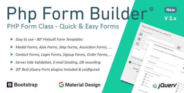 PHP Form Builder by migli | CodeCanyon