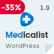 Medicalist - An All-in-One WP Medical Theme with Appointment and Blood Donation System Nulled