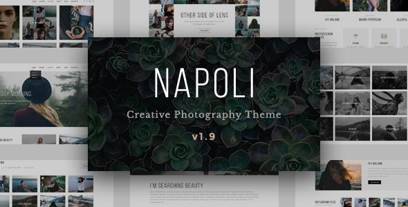 Napoli - Modern Photography Portfolio Theme - Photography Creative