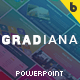 Gradiana Multipurpose PowerPoint Presentation Templates - GraphicRiver Item for Sale