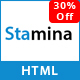 Stamina - One Page Multipurpose HTML5 Template - ThemeForest Item for Sale