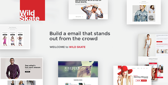 Fashion - Responsive Email Template - Email Templates Marketing