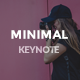 Minimal Keynote Template - GraphicRiver Item for Sale