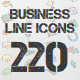 Business Line icons - GraphicRiver Item for Sale